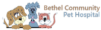 Bethel Community Pet Hospital Logo